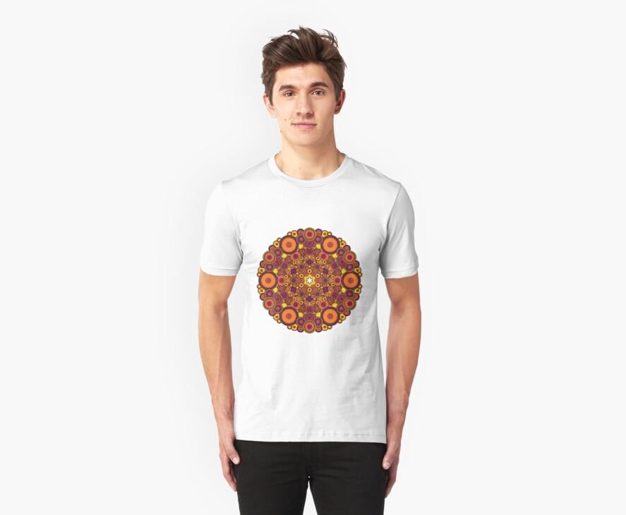 Mandala 37 T-Shirts & Hoodies by mandala-jim