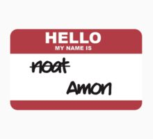 Hello, my name is Amon by Jake Driscoll