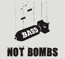 Drop bass not bombs T-Shirt