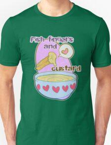 Fish fingers and custard Unisex T-Shirt