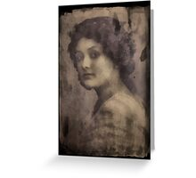 Etched in Time Greeting Card