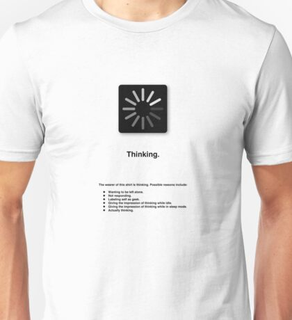 Thinking (with text) T-Shirt
