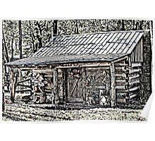 Clark Cabin Poster
