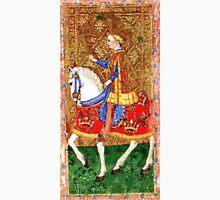 Medieval Nobleman on horseback Unisex T-Shirt