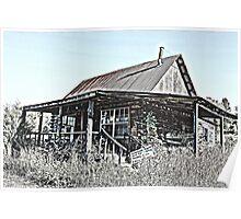 Hillbilly Cabin Poster