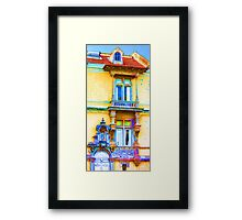 beautiful window Framed Print