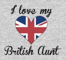 I Love My British Aunt One Piece - Short Sleeve