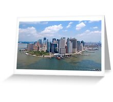 Manhattan - New York Greeting Card