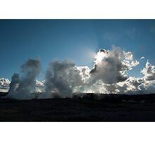 Faithful at Dusk Photographic Print