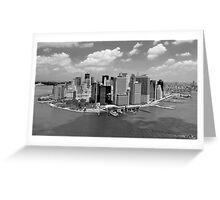 Manhattan - New York Greeting Card