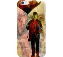 Technicolor Rain ~ Buster Keaton iPhone Case/Skin