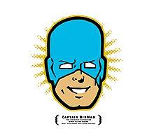 Captain RibMan - Face Photographic Print