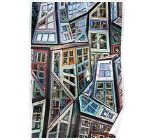 Abstract Windows Poster