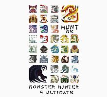 Monster Hunter 4 Ultimate 'Hunt Me' Design Unisex T-Shirt