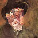 Po9rtrait of Van Gogh 9. by nawroski .