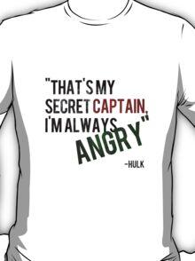 Hulk - Always Angry T-Shirt