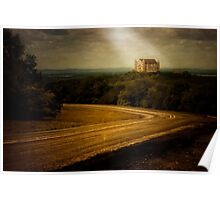 """""""Hill Country Castle"""" Poster"""