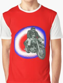 Billy Fury biker Graphic T-Shirt
