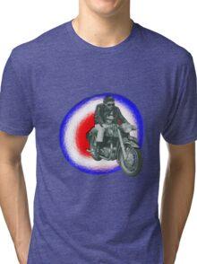 Billy Fury biker Tri-blend T-Shirt
