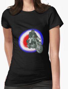 Billy Fury biker Womens Fitted T-Shirt