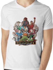 Streets Ahead Mens V-Neck T-Shirt