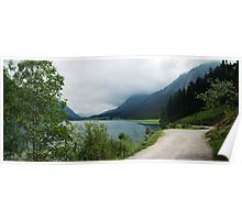 Quiet walk along the lake... Panorama Poster