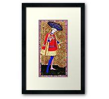 Medieval Spanish Page Boy Framed Print
