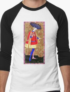 Medieval Spanish Page Boy Men's Baseball ¾ T-Shirt