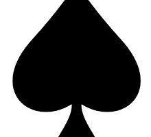 ACE, Ace of Spades, Black, Music, Motorbike, Hells Angels, Gang, Gamble, Cards by TOM HILL - Designer