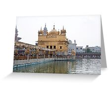 Causeway leading to the Golden Temple Greeting Card