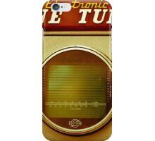 Retro engine tune-up equipment iPhone Case/Skin