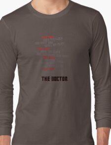 Tick Tock Long Sleeve T-Shirt