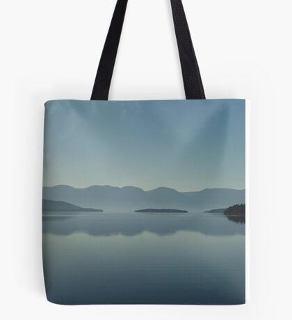 MAGIC MORNING ON FLATHEAD LAKE, MT Tote Bag