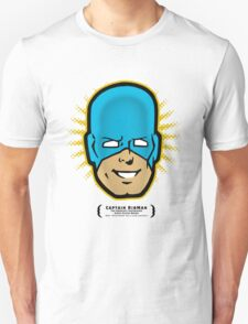 Captain RibMan - Face T-Shirt