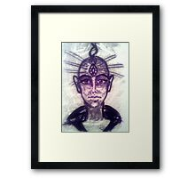 Ascended Master Framed Print