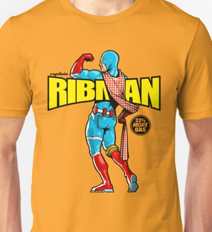 Captain RibMan - 33% More Gas Unisex T-Shirt