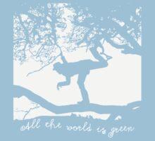 Tom Waits - All the World is Green Kids Tee