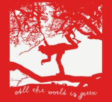 Tom Waits - All the World is Green One Piece - Long Sleeve