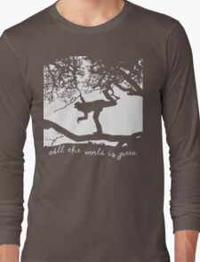 Tom Waits - All the World is Green Long Sleeve T-Shirt