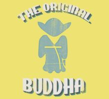 The Original Buddha Yoda Kids Tee