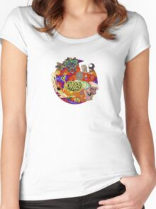 Of Montreal Album Art Women's Fitted Scoop T-Shirt