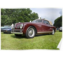 Alfa Romeo 6C 2500 SS Cabrio (1949) Poster