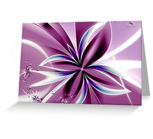 For You Violet Greeting Card