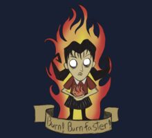 Willow, Don't starve Kids Tee