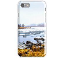 Winter Lake iPhone Case/Skin