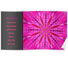 Have Faith in God Poster