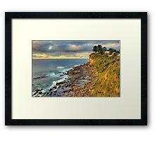 Location Location - Avalon Headland , Sydney - The HDR Experience Framed Print