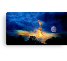 The First Morning Breath Canvas Print