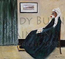 Whistling Mother by Randy  Burns
