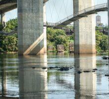 Another View of the Robert E Lee Bridge Sticker